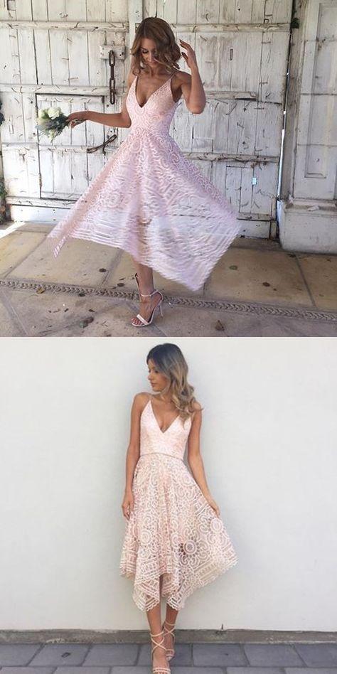 Short Royal Blue Pink Red Bridesmaid Dresses, Full Lace Newest Bridesmaid Dress, PD0333 #bridesmaiddresses #bridesmaidsdresses