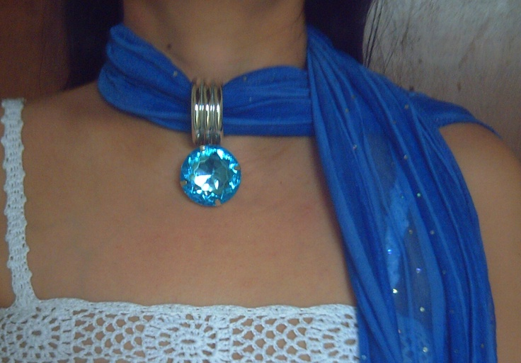 My own design for Scarf Necklace