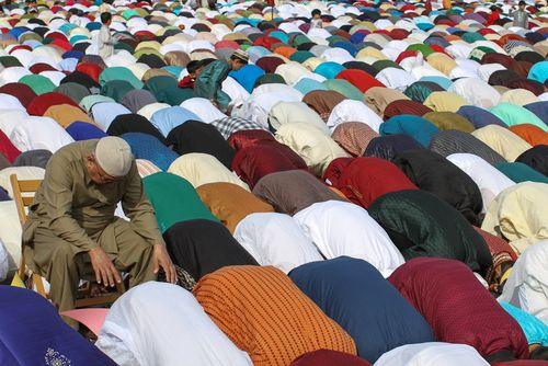 """""""The Eid Prayer""""  This picture is just plain awesome"""