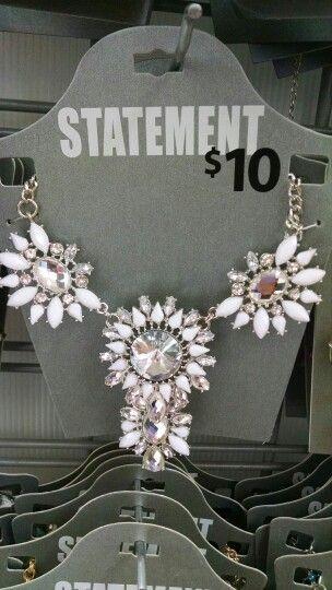 $10 walmart statement necklace