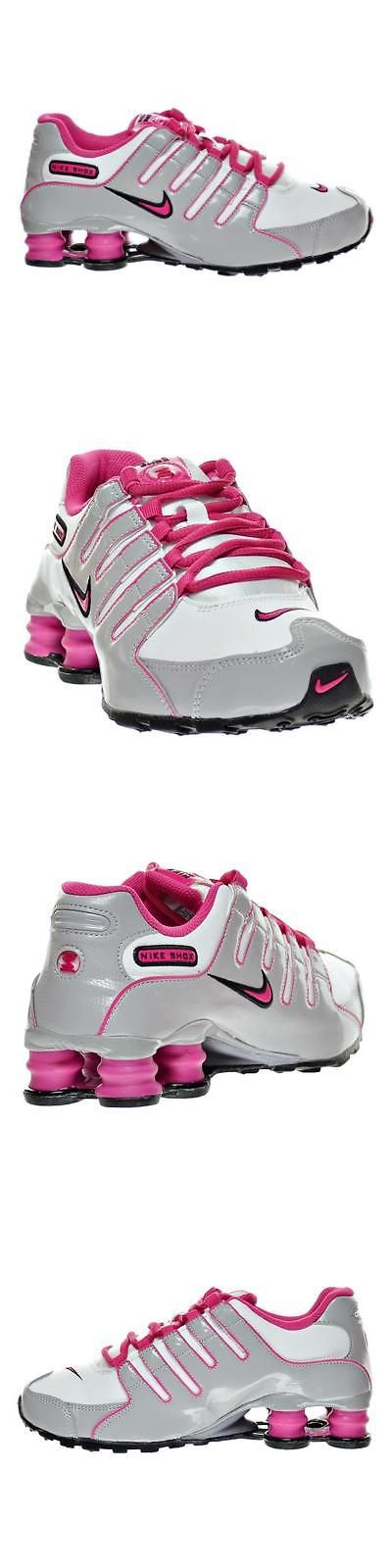 Youth 158954: Nike Shox Nz Running Jogging Walking Shoes Size 6.5 Youth White Gray (8 Womens) -> BUY IT NOW ONLY: $100 on eBay!
