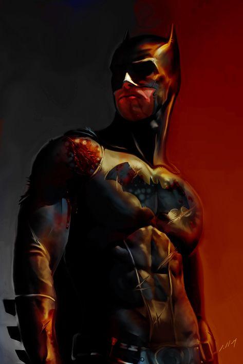 Batman by Alexandre Salles (more art linked)