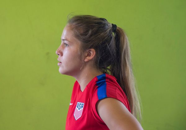 Forward Ashley Sanchez is the leading scorer for the U.S Under-17 Women's National Team, tallying 18 goals in 18 international matches as the team heads into the 2016 FIFA U-17 Women's World Cup in Jordan. She sat down with ussoccer.com to talk about the upcoming World Cup, her time with various U.S. National Teams this year and which teammates make her laugh.