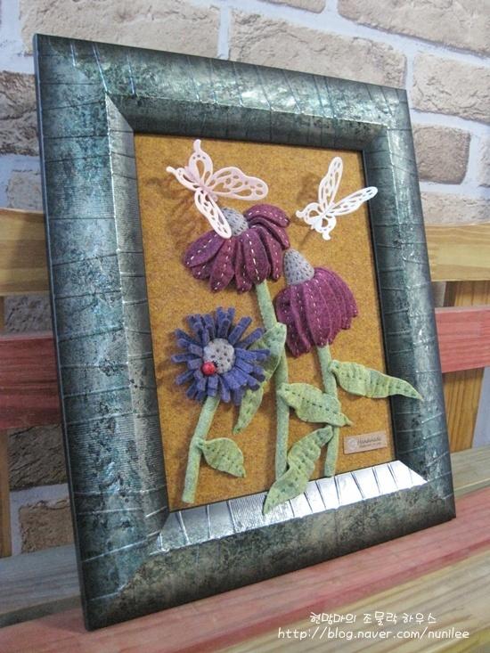 Como criar adereços interior ▶ flores e borboletas, criando um quadro de imagem fantástica tridimensional _ próprios :: Blog Naver