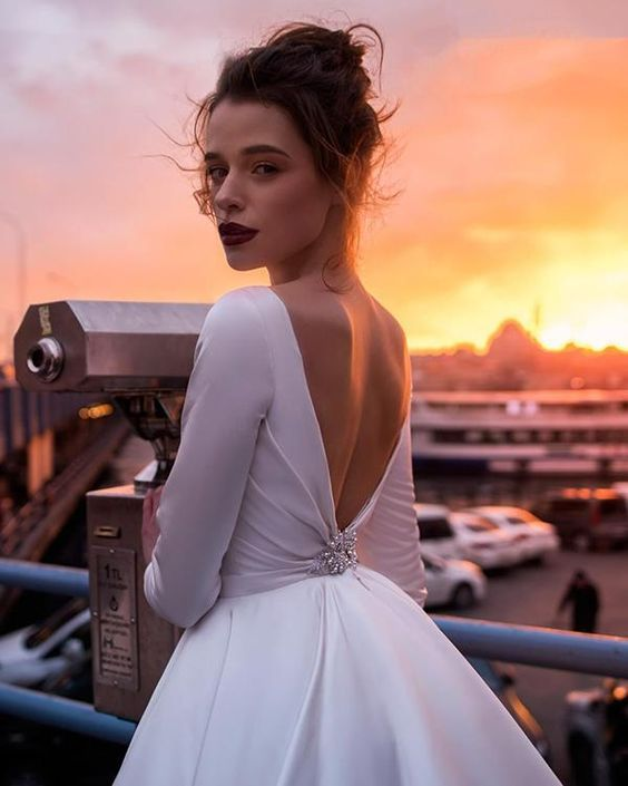 e19d86a62c9 30 Ideal Backless Wedding Dresses Bring the Glamour to Your Wedding ...