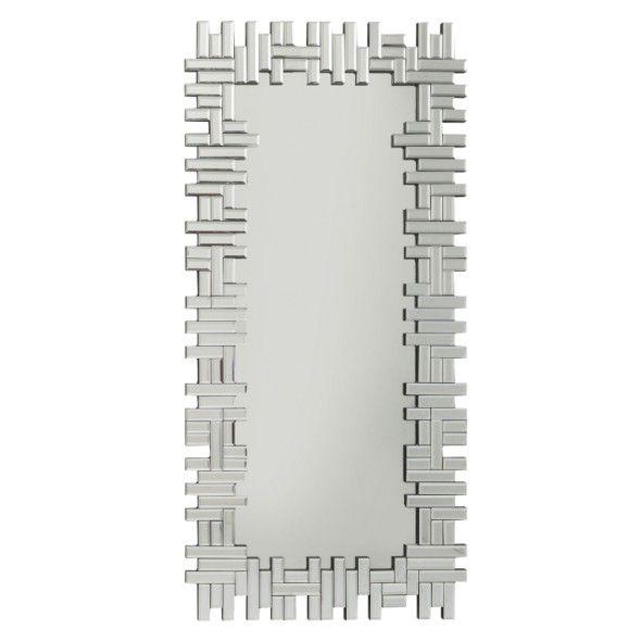 Lustro wiszące PUZZLE RECTANGULAR 120x58 cm