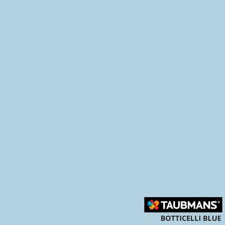 #Taubmanscolour #botticelliblue