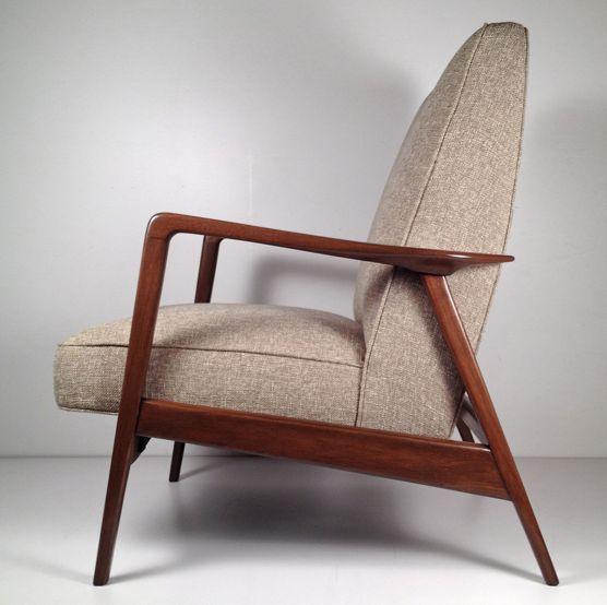 Danish modern lounge chair space pinterest - Vintage lyon lounge ...
