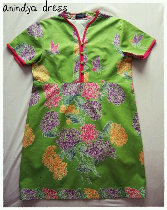 Cute batik dress