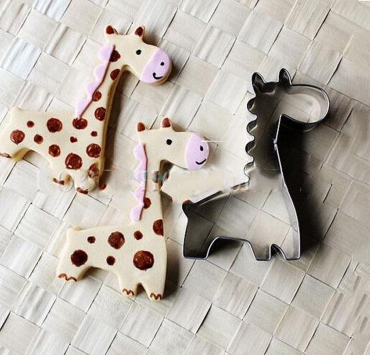 Stainless steel giraffe cookie cutter cake pastry mould baking tools by yarich
