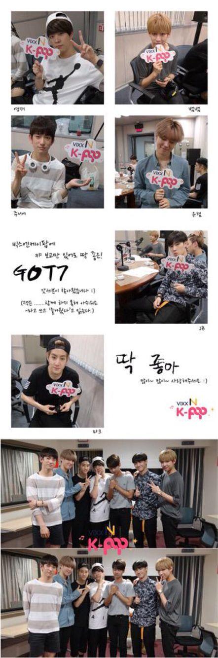 Got7- Vixx N K-POP Radio Star Talk
