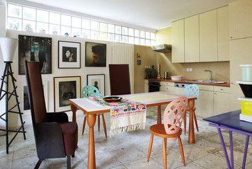 Interior Nestor Percal #eclectique-cuisine Francis Amiand Photographe
