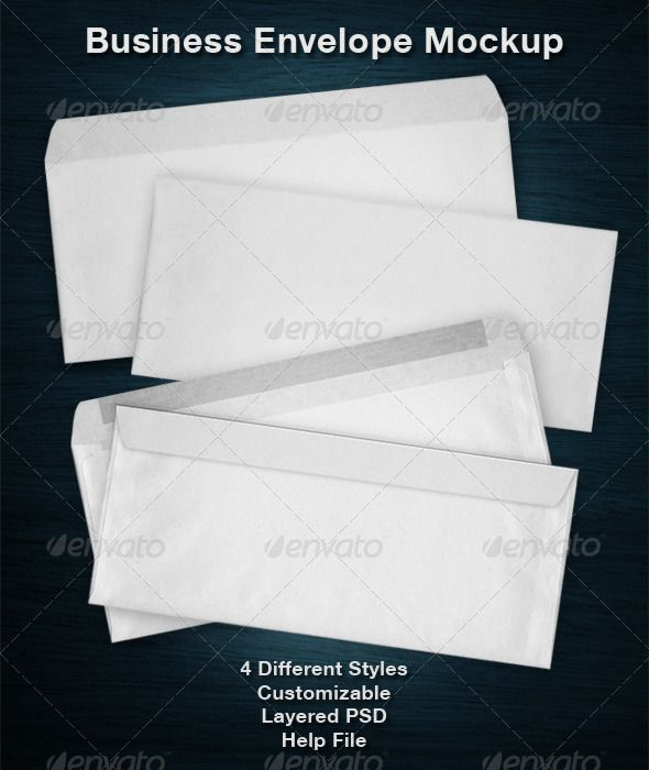 Business Envelope Mockup — Photoshop PSD #envelope mock-up #stationary • Available here → https://graphicriver.net/item/business-envelope-mockup/2597537?ref=pxcr