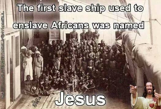 The first slave ship used to enslave Africans was named ...