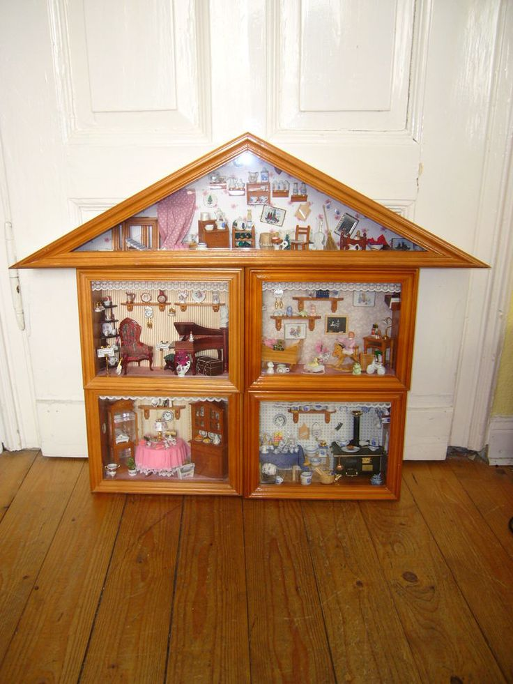 17 best images about dollhouses miniatures on pinterest for Playmobil haus schlafzimmer