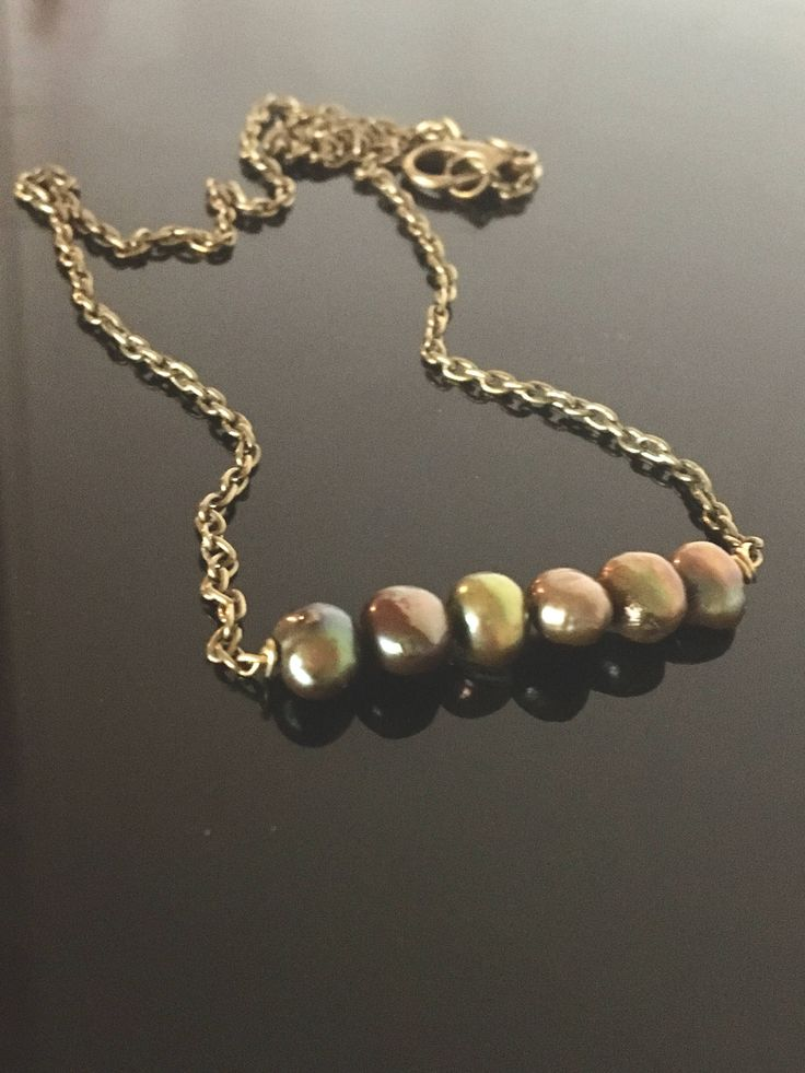 A personal favourite from my Etsy shop https://www.etsy.com/no-en/listing/524604088/shiny-summer-pearl-necklace-freshwater