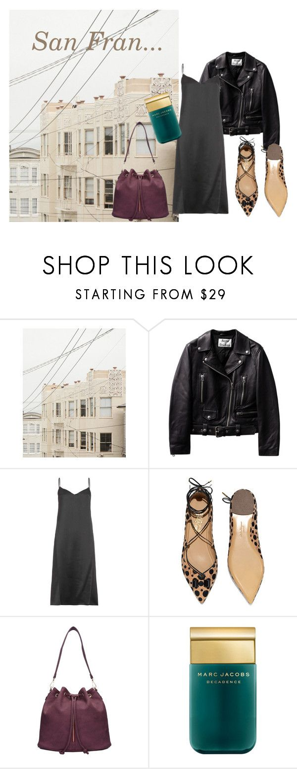 San Fran by slounis on Polyvore featuring moda, Nina Ricci, Salvatore Ferragamo, Marc Jacobs, women's clothing, women's fashion, women, female, woman and misses