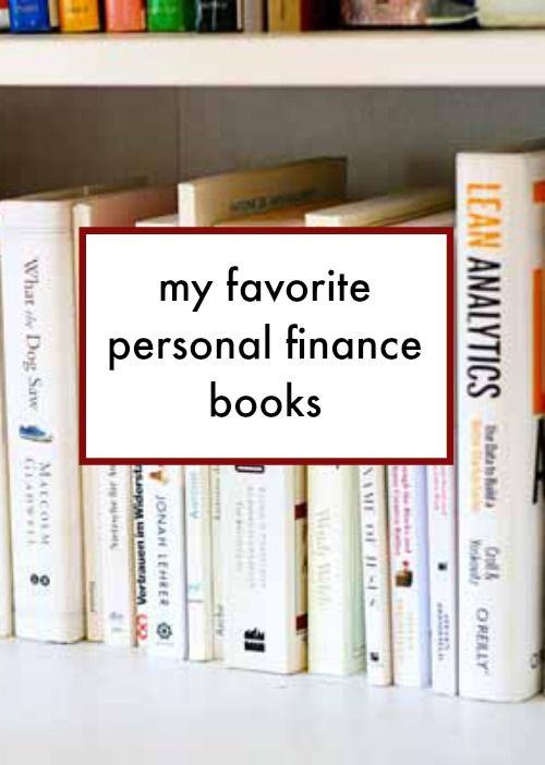 My favorite personal finance books.