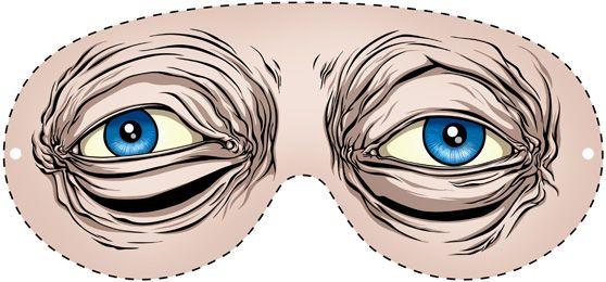 The DIY Analog Version of Steve Buscemi's Eyes by Alex Pardee