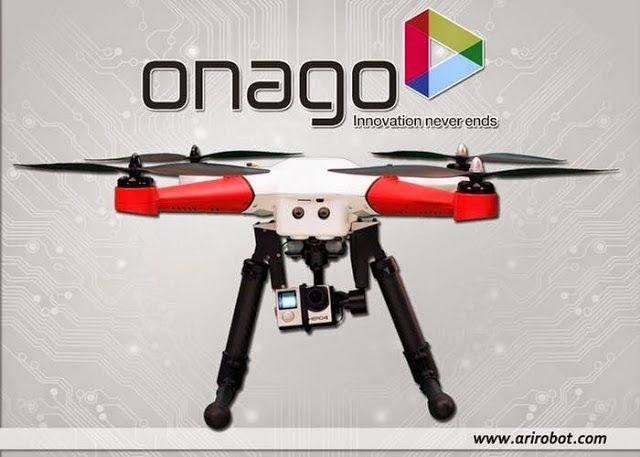 Onago Auto-follow Camera #Drone Launched / TechNews24h.com