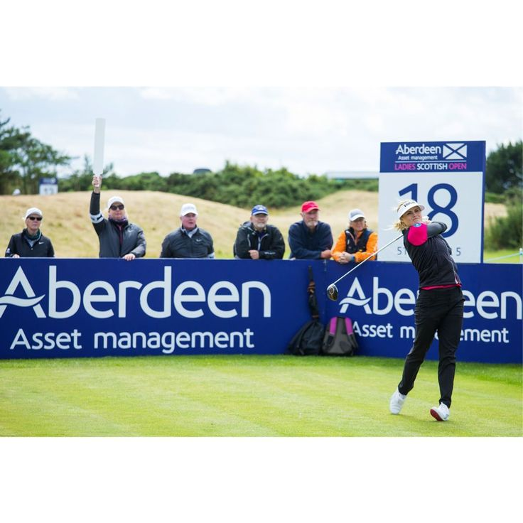 Joanna Klatten Carly Booth and Mo Martin made significant moves up the leaderboard on the second morning at the Aberdeen Asset Management Ladies Scottish Open but first round star Karrie Webb kept her position at the front of the pack. Klatten a member of both the LPGA and Ladies European Tours fired a best-of-the-round 68 in a strong breeze at Dundonald Links which saw her climb 71 positions and break into the top-10. The 2012 tournament champion Carly Booth and the 2014 Ricoh Womens…