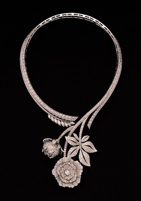 Van Cleef & Arpels - Paeonia necklace by Van Cleef & Arpels, via Flickr