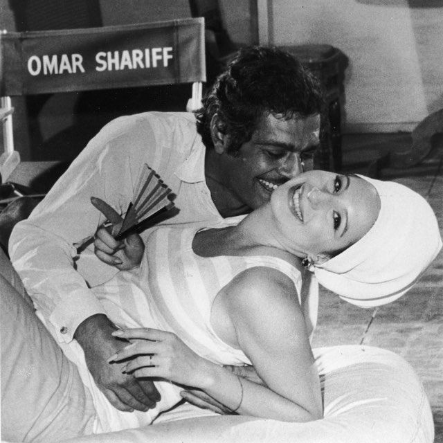 ICONIC LOVERS 24. Omar Shariff & Barbra Streisand in Funny Girl. R.I.P. bellissimo Omar.