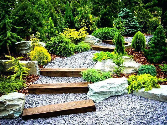 Japanese Garden Designs For Small Spaces Sophisticated Big Dreams Small Spaces Garden Ideas Simpl Small Garden Landscape Rock Garden Design Small Garden Design