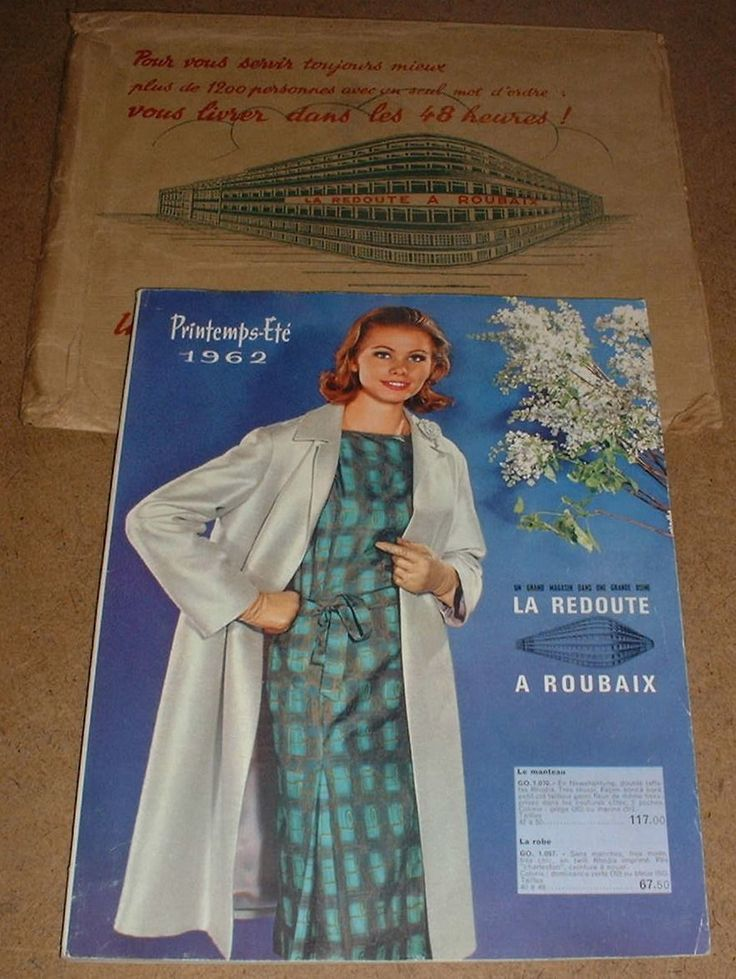 catalogue la redoute roubaix printemps et 1962 complet t b e proche du neuf ebay roubaix. Black Bedroom Furniture Sets. Home Design Ideas