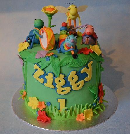 Bugs Band Cake