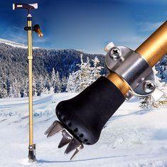 #Banggood Сцепление на снегу для прогулок прикрепление тростника лед захвата шипы грязи снег помощь безопасности инвалидности (1112236) #SuperDeals
