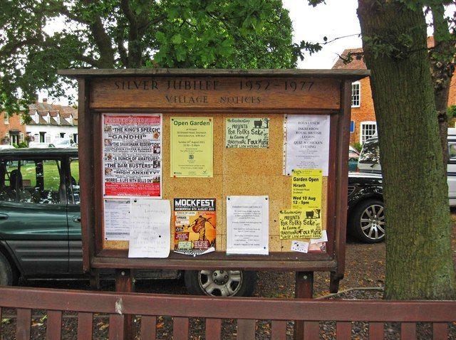 village notice board - Google Search