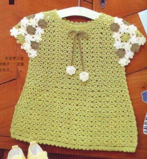 17 Best images about Crochet baby dresses on Pinterest