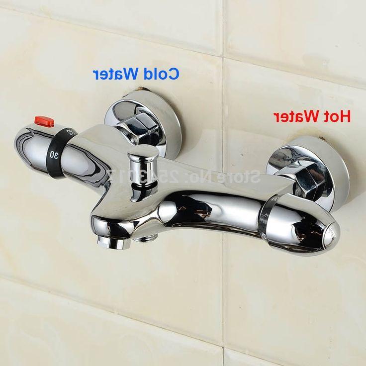 Copper Dual Handle Thermostatic Faucet Bath Brass: 1000+ Ideas About Mixer Shower On Pinterest