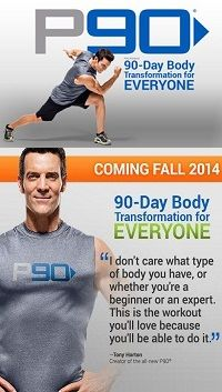 All New P90 Workout coming this fall!  I can't wait, I started with the original Power 90 in 2001 and lost my freshman weight. : )