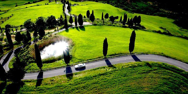 Monticchiello in Toscana Spot Audi - Riprese Aeree http://www.helivr.com