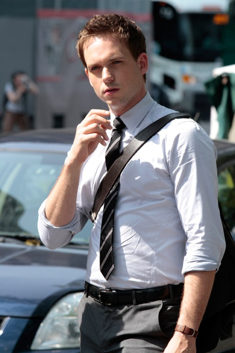 Patrick J Adams of Suits -Love business men