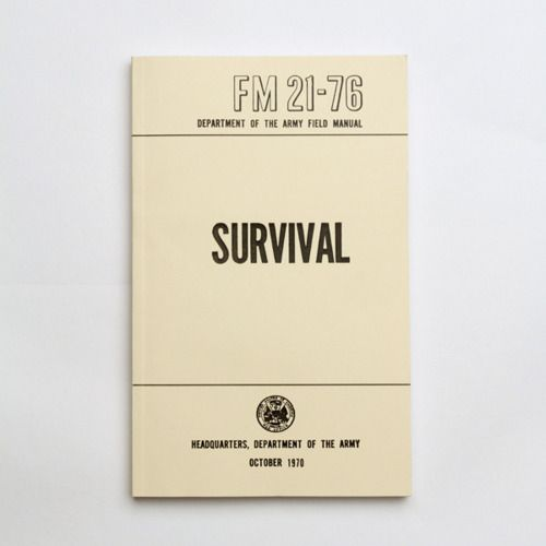 Fields Manual, Book, Army Fields, 2176, Manual Sets, Us Army, Survival Guide, Survival Manual, Army Survival