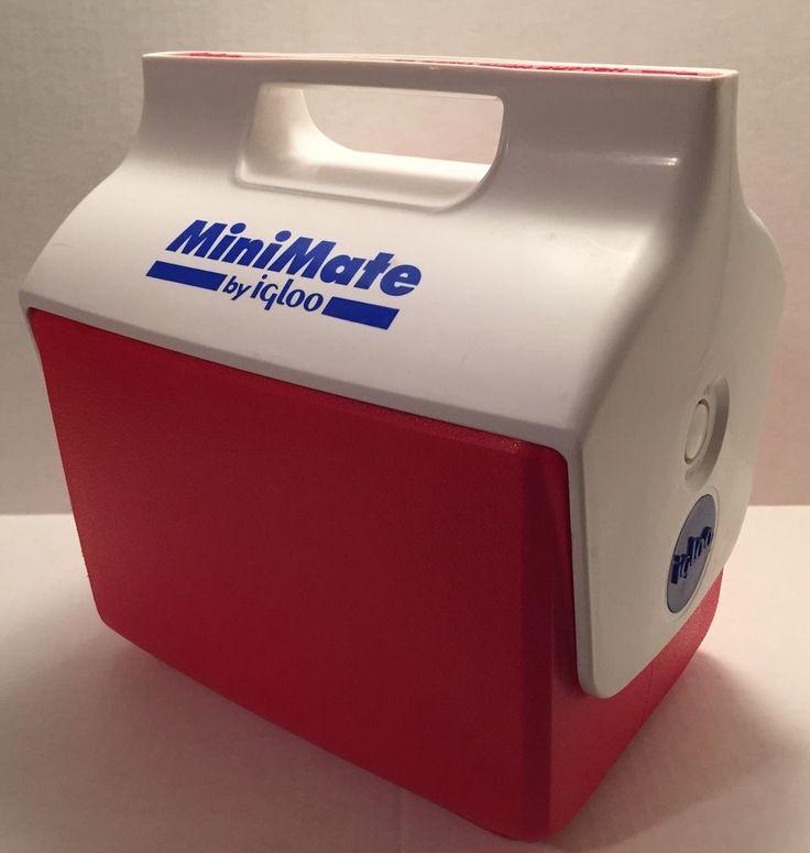 Details About Minimate Igloo 4 Qt Cooler Lunch Box Mini