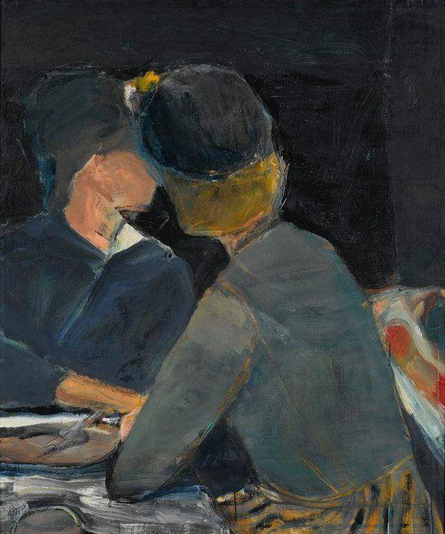 Richard Diebenkorn, Two Women at Table, 1963