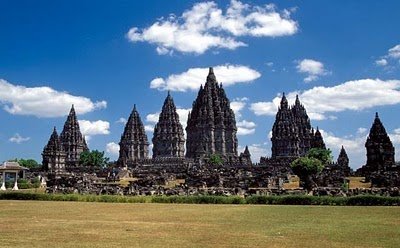 The most sexiest and prettiest temple I've seen so far. Prambanan Temple, East Java.  I wanna go there again and again and again... :)