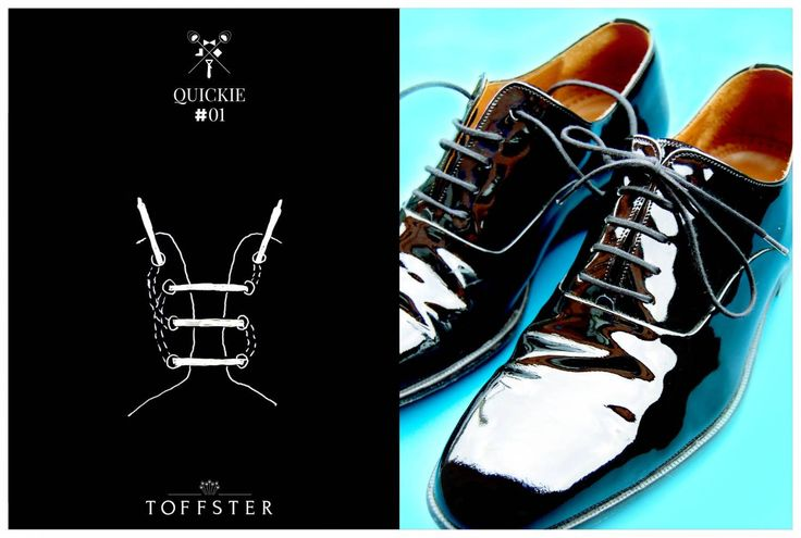 TIE YOUR SMART SHOES LIKE A GENTLEMAN