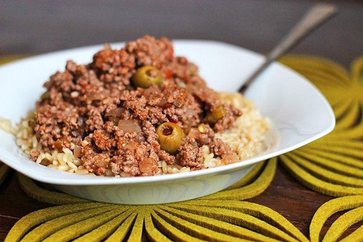 Skinny Beef Picadillo | Recipe
