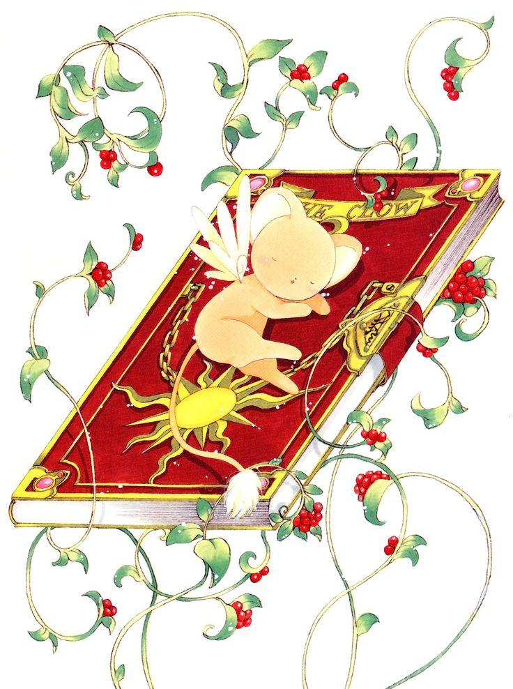 CLAMP, Cardcaptor Sakura, Cardcaptor Sakura Illustrations Collection 1, Kero-chan, Clow Book, Vines