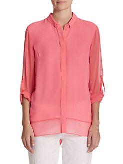 Эли Тахари - Криста шелковая блузка