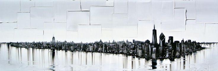 Un monde parallèle par Joëlle Blouin, artiste présentement exposée aux Galeries Beauchamp. www.galeriebeauchamp.com