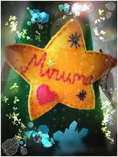 POIANA CU GAZUTZE: Ornament fetru #fetru #handmade #craciun #cadou #moscraciun #jucarie #coronita #mosnicolae #sarbatori #decoratiuni #ornamente #felt #christmas #ornaments #decorations #toys #christmastree #santa #gift