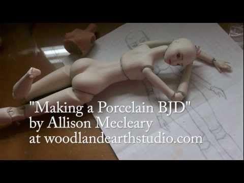 Making a Porcelain BJD FREE tutorial  http   woodlandearthstudio com