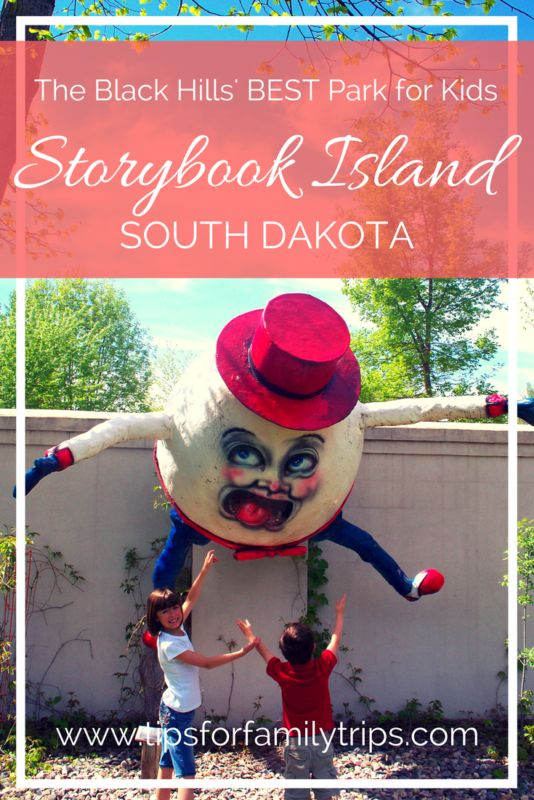 Headed to the Black Hills with children? You'll want to know about Storybook Park in Rapid City, South Dakota | tipsforfamilytrips.com | summer vacation | family travel