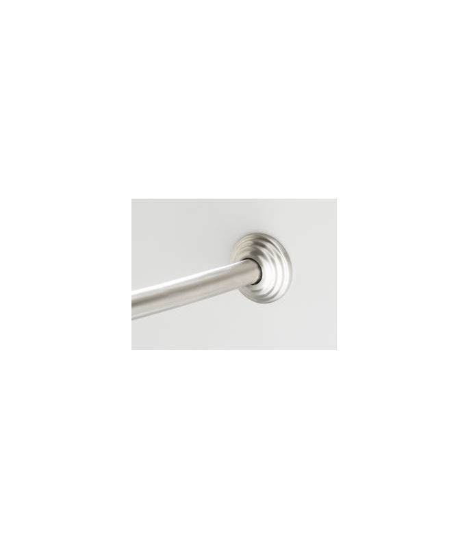 kohler k9349 expanse curved shower rod with traditional design brushed stainless shower accessories